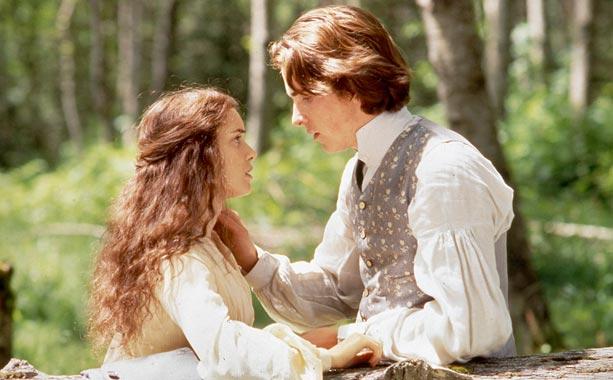 Winona Ryder y Christian Bale