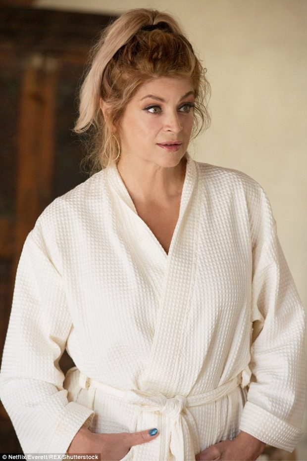 Kirstie Alley en Flaked