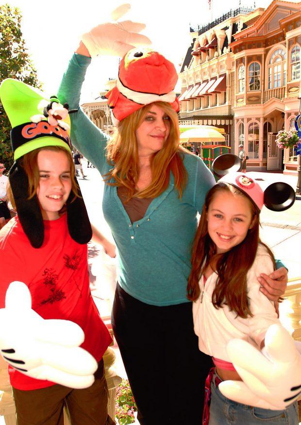 Kirstie Alley y sus hijos