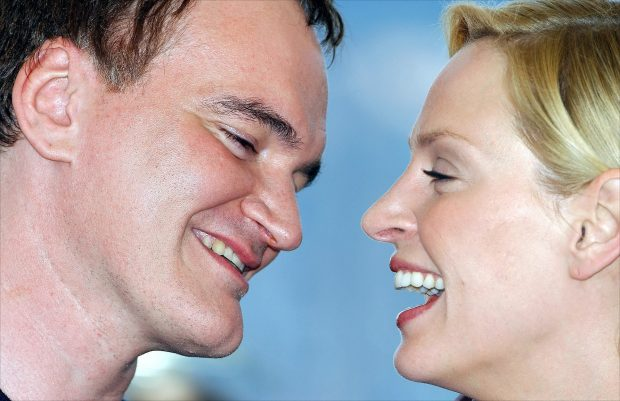 Uma Thurman y Tarantino