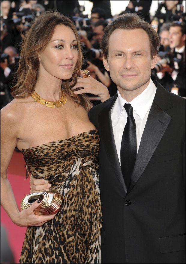 Tamara Mellon y Christian Slater