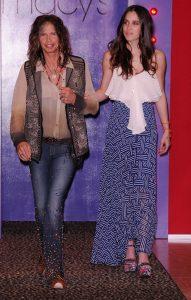 Steven Tyler y Chelsea Tyler