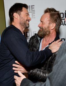 Hugh Jackman y Sting