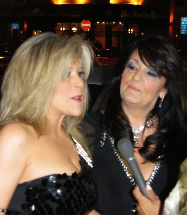 Samantha Fox y Myra