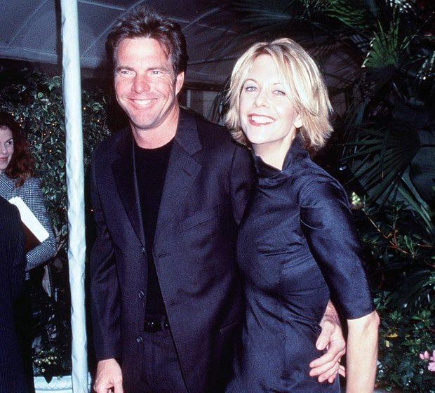Dennis Quaid y Meg Ryan