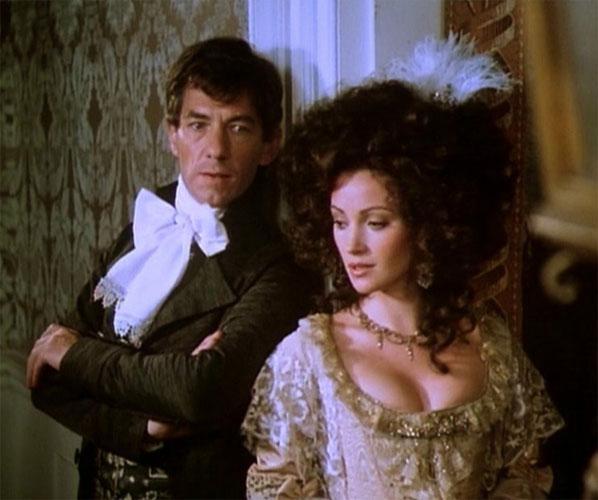 Ian Mckellen y Jane Seymour