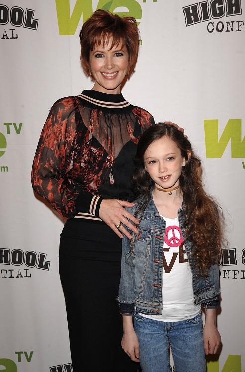 Janine Turner y su hija