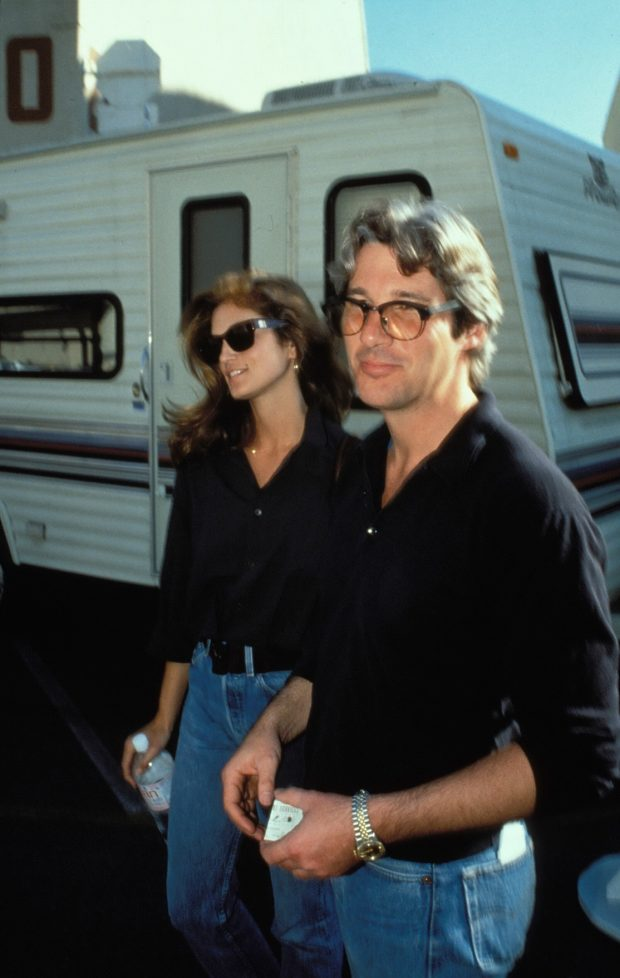 Cindy Crawford y Richard Gere
