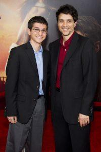 Ralph Macchio y su hijo Daniel Macchio