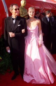 Gwyneth Paltrow y su padre Bruce