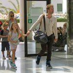 Gwyneth Paltrow, Chris Martin y sus hijos Apple y Moses