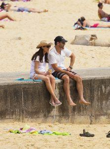 Eric Bana y Rebecca Gleeson