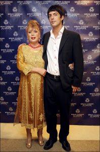 María Jiménez y Alejandro Sancho