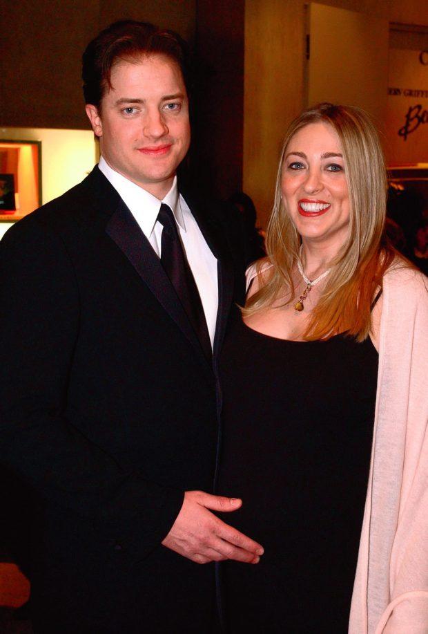Brendan Fraser esperando un hijo con su mujer