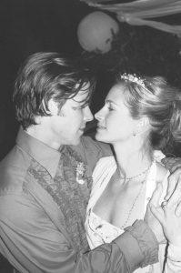 Julia Roberts, muy enamorada en el día de su boda con Daniel Moder