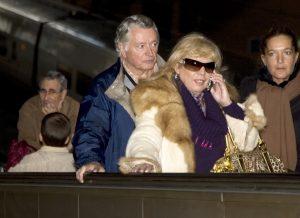 María Jiménez y su pareja Manuel Morilla en 2009