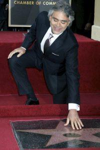 Andrea Bocelli, un tenor con mucha estrella