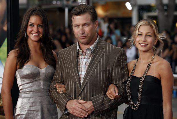 Stephen Baldwin con sus hijas Alaia y Hailey