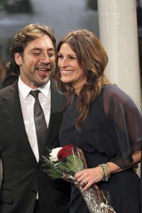 Bardem y Julia Roberts prsentan su película juntos en San Sebastián