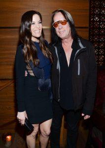 Liv Tyler y Todd Rundgren