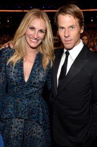 Julia Roberts y su marido en 2014