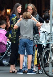 Liv Tyler, su hijo Milo Y Steven Tyler