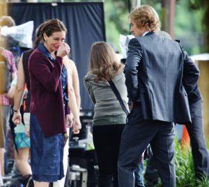 Imagen del rodaje del drama 'Wonder' con Julia Roberts y Owen Wilson