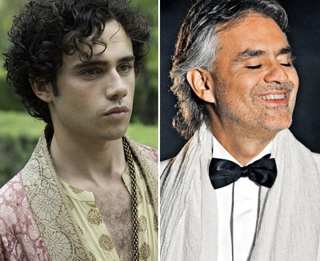 Toby Sebastian será Andrea Bocelli en su biopic The music of the silence