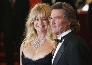 Los actores Kurt Russell y Goldie Hawn disfrutan de Cannes (Francia)