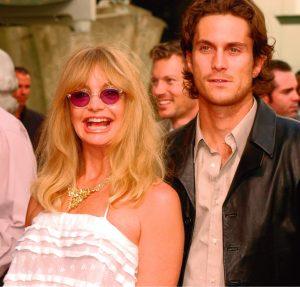 Goldie Hawn y Oliver Hudson en 2003