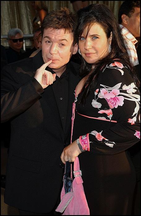Mike Myers y Robin Ruzann la premiere de la película Austin Powers Gold Member en Los ÁNGELES