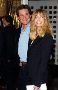 Los actores Kurt Russell y Goldie Hawn en 2003