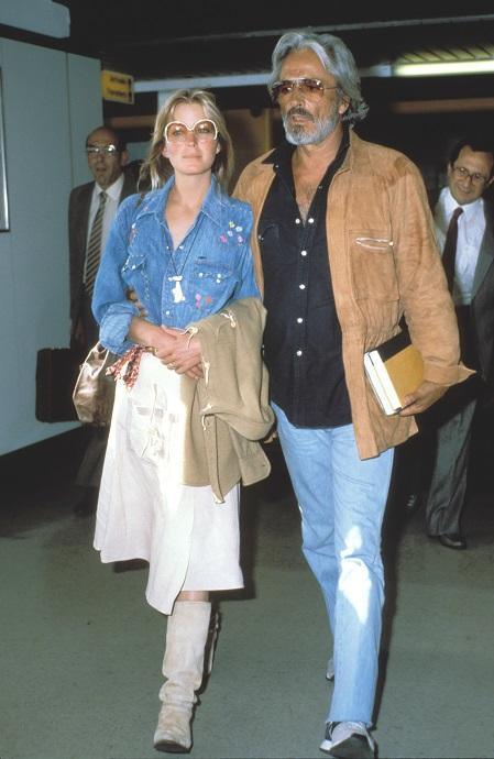 Bo Derek y su marido, John Derek, en 1980
