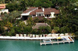 Lujosa mansión de Thalía y Tommy Mottola en Miami