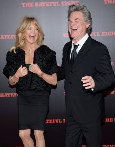 "Goldie Hawn y Kurt Russell en la premiere de ""The Hateful Eight"