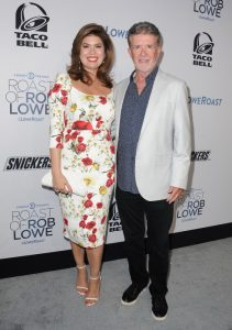 Alan Thicke y Tanya Callau en agosto de 2016.