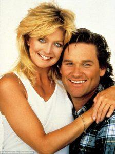 Kurt Russell y Goldie Hawn, una pareja con mucha química