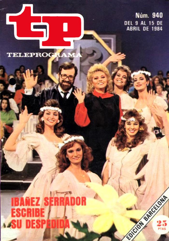 Portada de la revista Teleprograma en 1988 donde anuncia el final del concurso 'Un, dos, tres'.