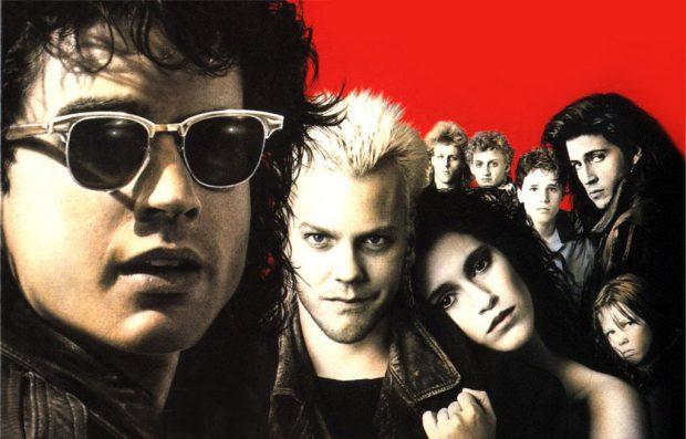 Portada de 'Jóvenes Ocultos' - The Lost Boys (1987).