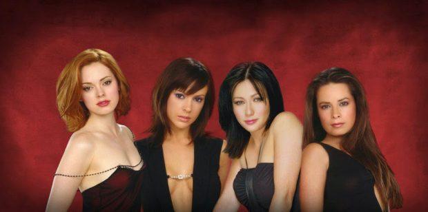 Rose McGowan (Paige Matthews), Alyssa Milano (Phoebe), Shannen Doherty (Prue) y Holly Marie Combs (Piper), protagonistas de 'Embrujadas'