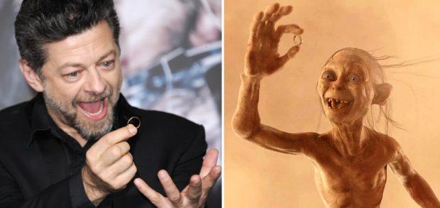 Andy Serkis, el hombre que le puso alma a Gollum, el famoso personaje de Tolkien.
