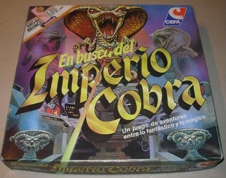 Caja de En busca del Imperio Cobra, creado por CEFA