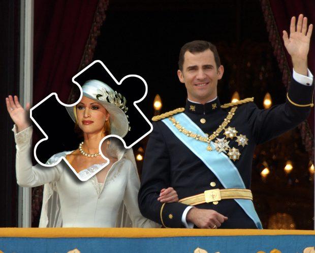 Montaje de una hipotética boda entre Eva Sannum y Felipe de Borbón