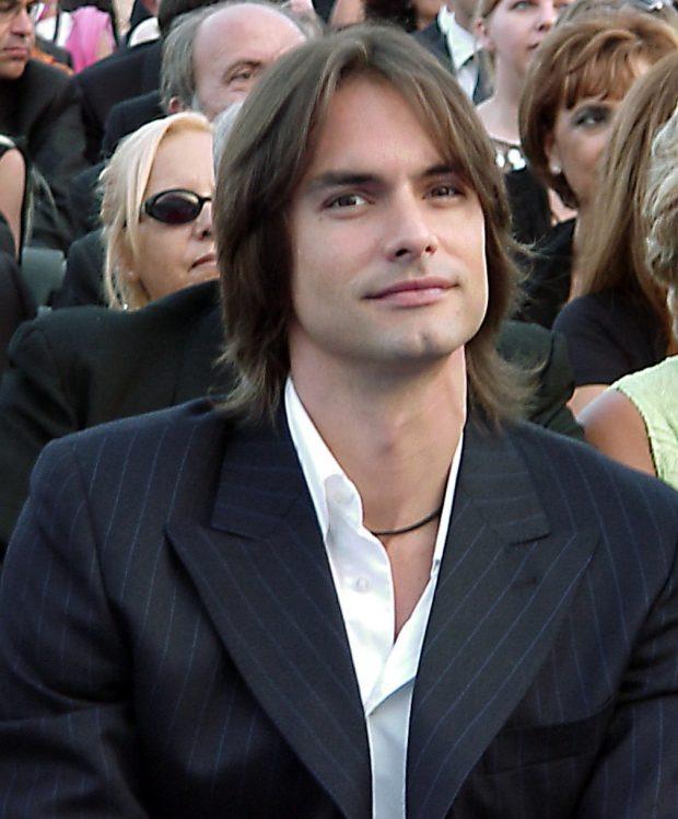 El modelo Marcus Schenkenberg en junio de 2003
