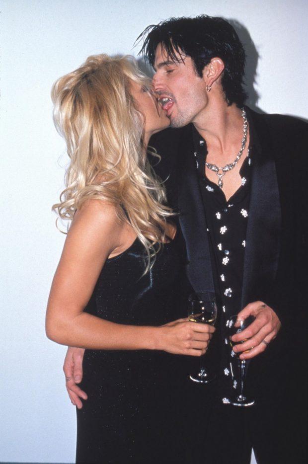 Pamela Anderson y Tommy Lee en los inicios de su matrimonio.