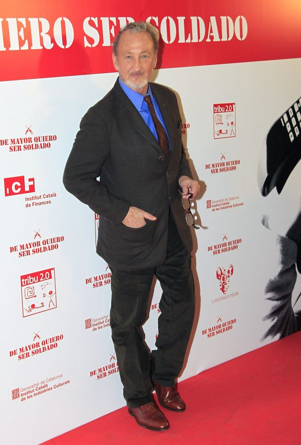 Robert Englund en la presentación de 'De mayor quiero ser soldado', en Madrid, noviembre de 2011.