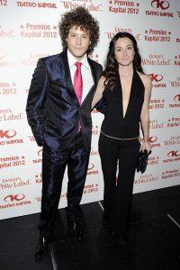 Daniel Diges y su mujer Alejandra Ortiz Echague en 2012