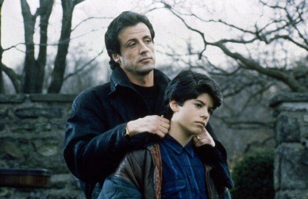 Sylvester Stallone y Sage en 'Rocky V'