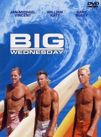 William Katt, luciendo un moreno surfista en 'El gran miércoles'.
