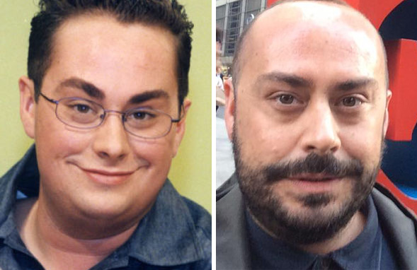 Antes y después de Borja Vera en nada es para siempre
